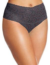 Hanky Panky Women's Plus-Size Retro Thong Panty