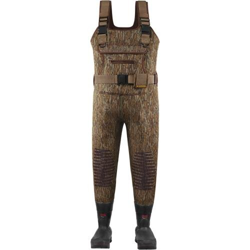 LaCrosse Men's Swamp Tuff 1200G Waders, Brown, 10 M - Lacrosse Waders