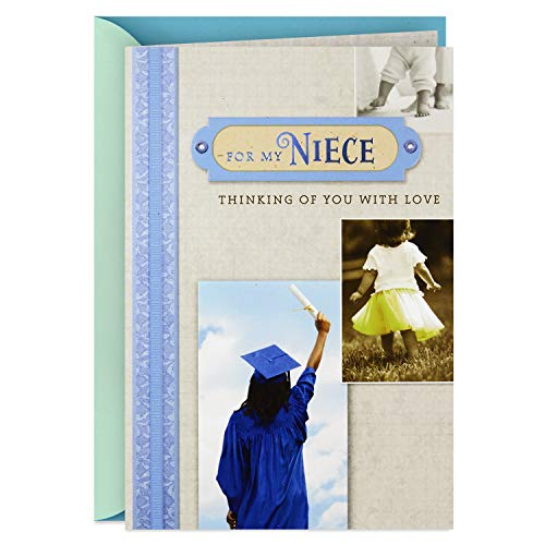 - Hallmark Graduation Card for Niece (Thinking of You with Love)
