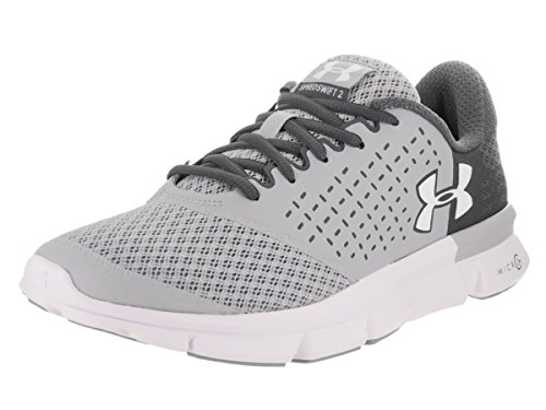 Under Armour Womens Speed ​​swift 2 Grigio Annodato / Rinoceronte Grigio / Bianco