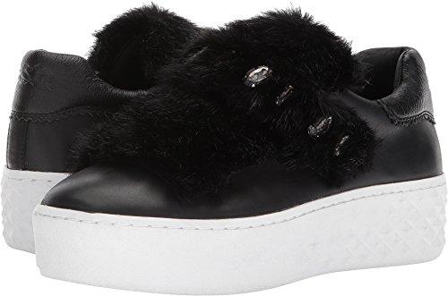 Ash Womens DJIN Platform Sneaker Black/Black Nappa Calf/Mink Black aZP5QSemC
