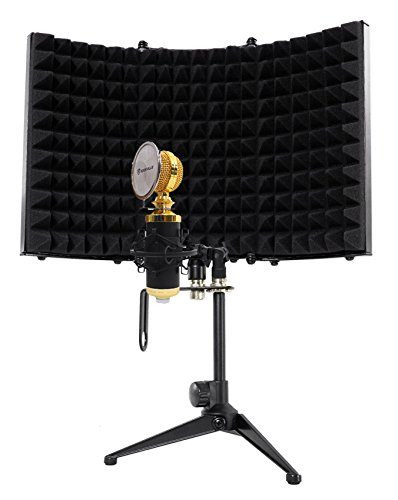 Rockville RCM02 Pro Studio Recording Condenser Microphone Mic+Shock Mount+Shield ()