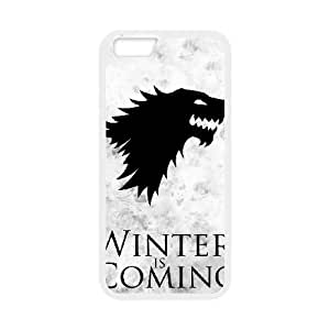 iPhone 6 Plus 5.5 Inch Cell Phone Case White Winter is coming dqmi