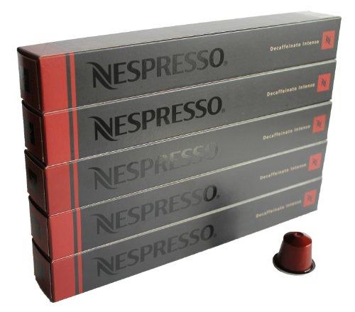 50 Nespresso OriginalLine Decaffeinated Capsules Variety - 50 Count (50 Decaf (Nespresso Arpeggio Decaffeinato)