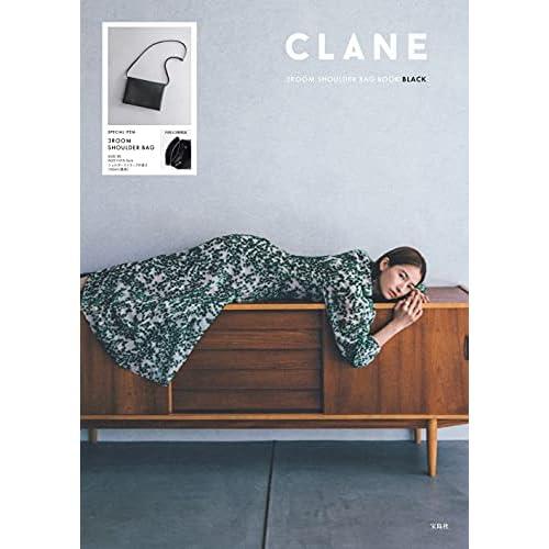 CLANE 3ROOM SHOULDER BAG BOOK BLACK 画像