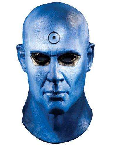 Dr Costume Manhattan (Dr. Manhattan Deluxe Mask Costume)