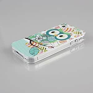 TLB Lovely Owls TPU Soft Shell and Capacitance Pen for iPhone 4/4S