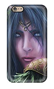 6 Scratch-proof Protection Case Cover For Iphone/ Hot Stunning Elf Portrait Phone Case