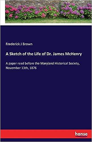 Como Descargar En Mejortorrent A Sketch Of The Life Of Dr. James Mchenry Mobi A PDF