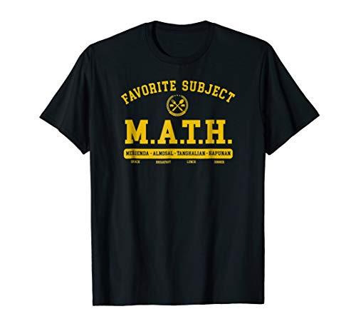 huge discount 2457f fabc0 M.A.T.H. T-Shirt