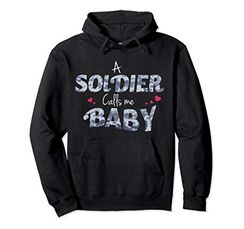 Unisex Army Girlfriend Hoodie For Proud Army Wives and Girlfriends 2XL Black