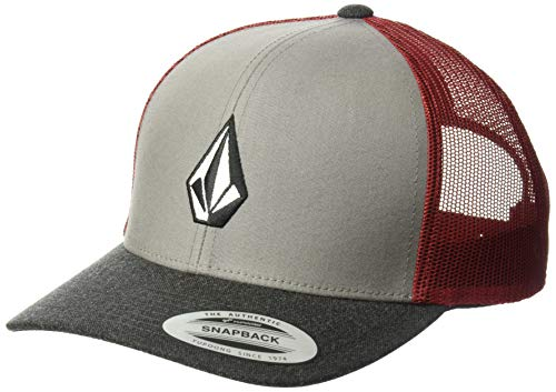 Baseball Clearance Outlet (Volcom Men's Full Stone Cheese Hat, Burgundy, One Size Fits)