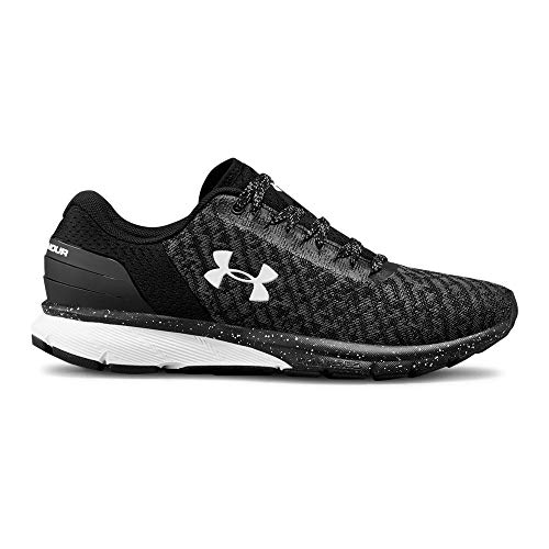 Under Armour Women's Charged Escape 2 Running Shoe, Black (002)/White, 8
