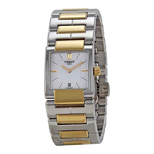 Tissot Two Tone Bracelet - Tissot Women's TIST0903102211100 T2 Analog Display Swiss Quartz Two Tone Watch