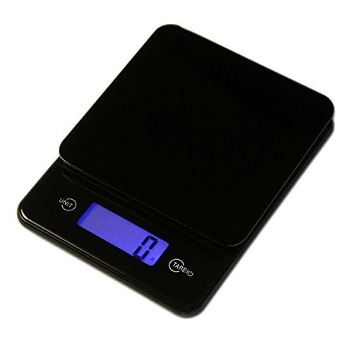 Vision - Digital Kitchen Food Scale 1g to 12 lbs Capacity, in Stylish Black