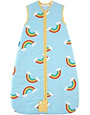 The Gro Company 1 Tog Over The Rainbow Travel Grobag 6-18 Months Baby, Multicoloured
