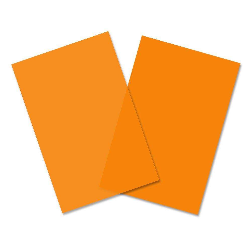 tama/ño 62,5x100cm Amarillo Papel celof/án color amarillo 12 hojas 130785