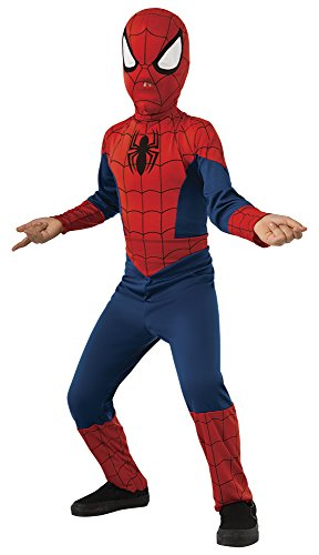 Spider Man Suits For Kids (Rubie's Marvel Ultimate Spider-Man Costume, Child Medium - Medium One Color)
