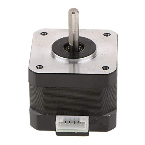 Price comparison product image nouler Juler Short Body Nema 17 Bipolar 42 Stepper Motor 2.8V 1.68A 2.8Mh DIY CNC with Motor Line