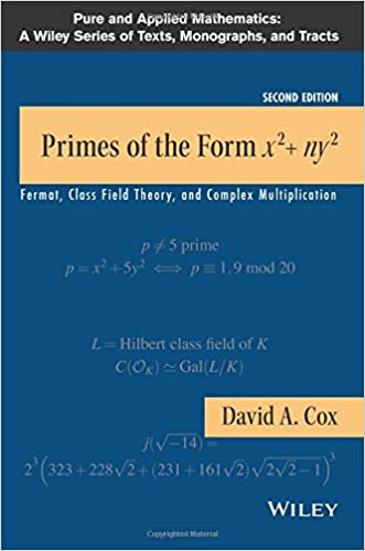 Primes of the form x2ny2 fermat class field theory and complex primes of the form x2ny2 fermat class field theory and complex multiplication 2nd edition fandeluxe