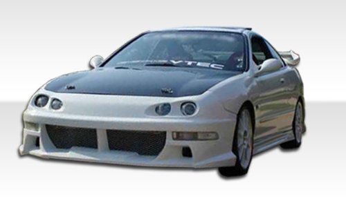 1998-2001 Acura Integra 4DR Duraflex Xtreme Body Kit - 4 Piece - Includes Xtreme Front Bumper Cover (101935) Bomber Rear Bumper Cover (101386) Bomber Side Skirts Rocker Panels (101387) ()
