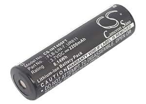 Bateria Inova T4, UR611, T4 Lights, Li-ion, 2200 mAh