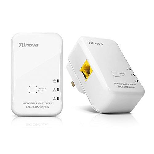 7INOVA Powerline Ethernet Adapter Extender