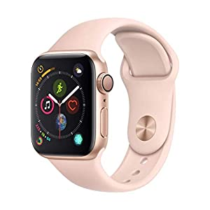 AppleWatch Series4 (GPS, 40mm) – Gold Aluminium Case with Pink Sand Sport Band