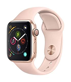 Apple Watch Series 4 (GPS, 40mm) - Gold Aluminium Case with Pink Sand Sport Band (B07HDHVS77) | Amazon price tracker / tracking, Amazon price history charts, Amazon price watches, Amazon price drop alerts