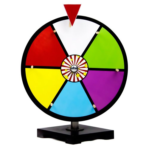 12 Inch Color Dry Erase Prize Wheel By Midway Monsters by MIDWAY MONSTERS