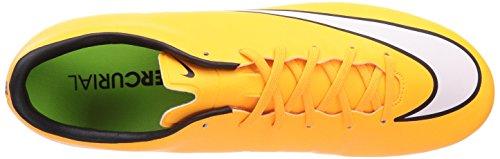 Mens Nike Mercurial Vittoria V Cleat Laser Arancione / Nero / Volt / Bianco
