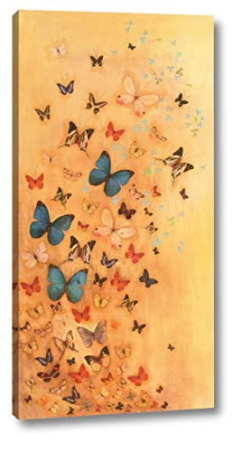 Butterflies on Warm Ochre by Lily Greenwood - 10