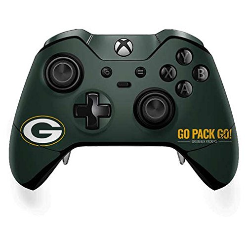 Skinit Green Bay Packers Xbox One Elite Controller Skin - NFL Skin - Ultra Thin, Lightweight Vinyl Decal Protection