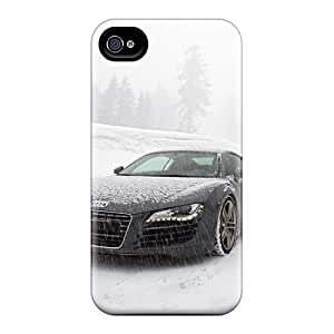 EricHowe Iphone 4/4s Shock Absorbent Hard Phone Cover Custom Nice Audi R8 Skin [zeE2268QpIf]