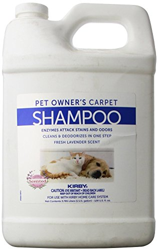 KIRBY Genuine 237507S Pet Owners Foaming Carpet Shampoo (Lavender Scented) Use with SE2 Sentria 2 G11, Sentria SE G10 G9, DE G8 Diamond Edition, ULTG G7, G6 G2001, G5, G4, G3,Legend, Heritage Tradition, Classic