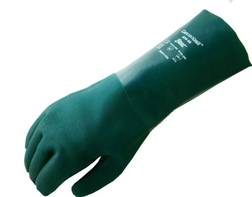 SHOWA L811 PVC Coated Glove, Cotton Jersey Liner, Chemical Resistant, 11