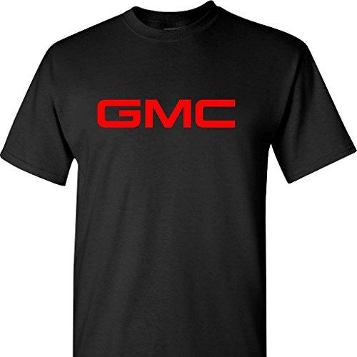 Gmc Logo On A Black T Shirt  Large