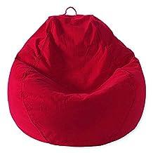 Mybeanbag Chair Adult Pear, Twill, Red