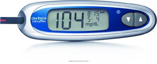 OneTouch UltraMini Blood Glucose Meter (OneTouch UltraMini Silver )
