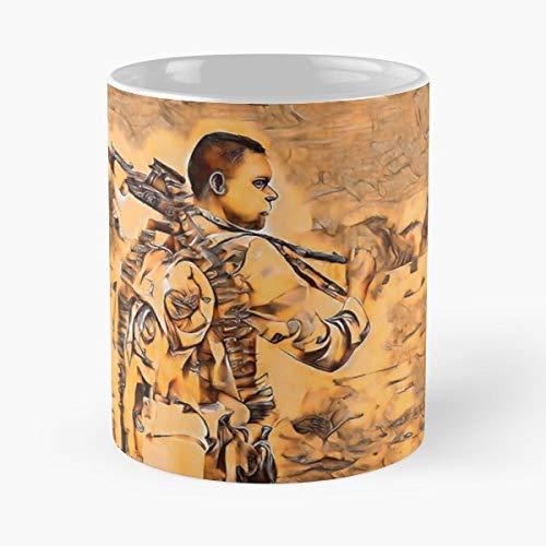 Soldier Desert War Iraq - Best Gift Ceramic Coffee Mugs