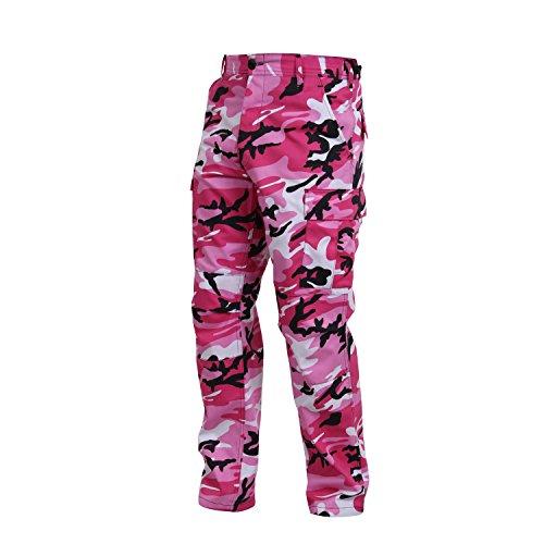 Rothco Bdu Pant, Pink Camo, Small