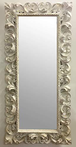 Specchio Legno Decapato.Specchio In Stile Barocco A Figura Intera Cornice In Legno