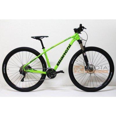 Bianchi Mountain Bike 29 Jab 293 Xtdeore 30v Verdeacido Amazon