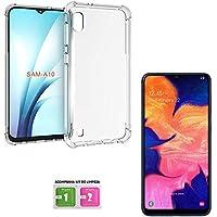 Capa Anti Shock Samsung Galaxy A10 2019 + Película de Gel Transparente, Acompanha Kit de Limpeza Tela