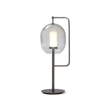 Lámpara de Mesa de Cristal, Lámpara de Mesa de la Sala de ...