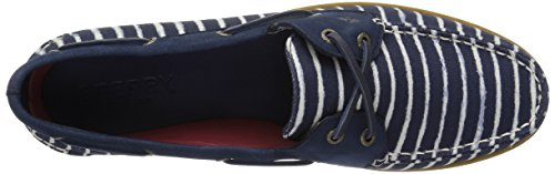11 Boat sider Us Stripe Sperry Women's Shoe Indigo Top A o Navy M v5q0wUH