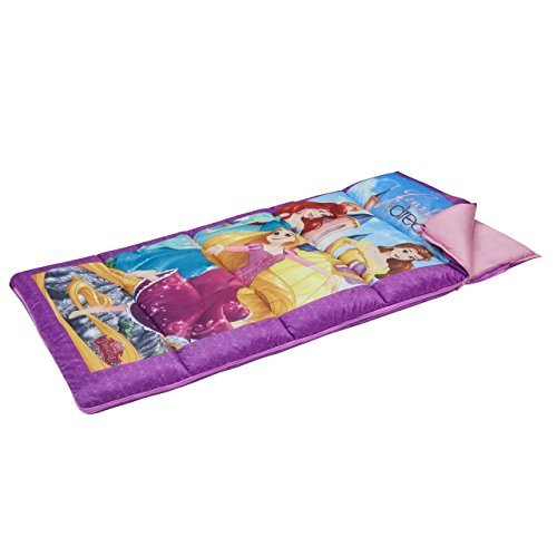 Exxel Disney Princess Camping Sleeping Bag Multicolor [並行輸入品] B072Z64699