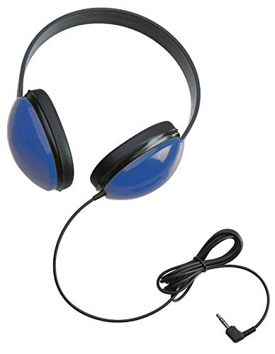 Califone 2800-BL Listening First Headphones in Blue (Set of 12) by Califone
