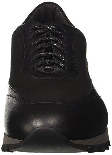 Nero Basso Sneaker Uomo Collo Alberto Guardiani A Forrest PqX0Aw
