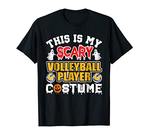 (This is my scary Volleyball Player Costume)
